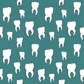 Teeth teal