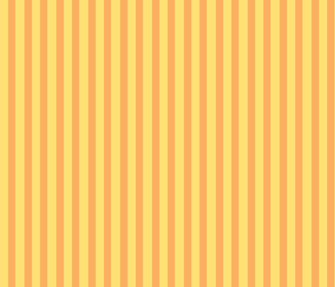 Chick_Chick_Yellow_Stripes fabric by ©_lana_gordon_rast_ on Spoonflower - custom fabric