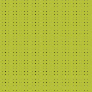 Damask_Black_Dots_on_Green