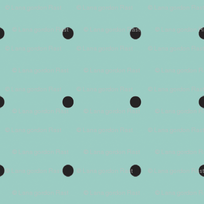 Damask_black_dots_on_turquoise