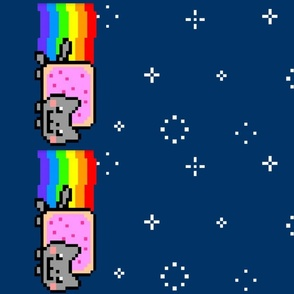 Nyan Cat (Poptart Cat) Border Print