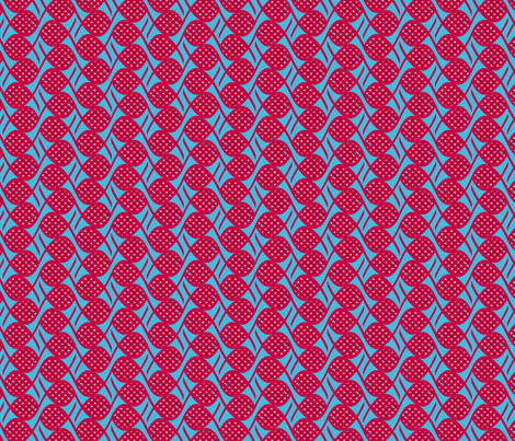 poisson chinois en maille S fabric by nadja_petremand on Spoonflower - custom fabric