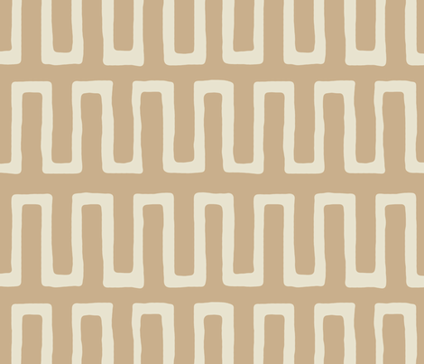 Urn in raffia fabric by domesticate on Spoonflower - custom fabric