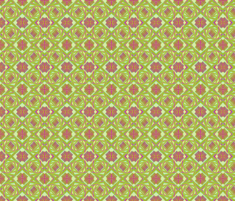 crazy_weave bright fabric by glimmericks on Spoonflower - custom fabric