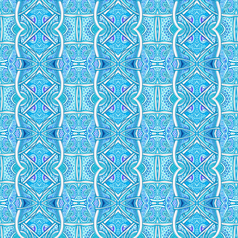 Blue Sky Dreams fabric by edsel2084 on Spoonflower - custom fabric