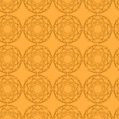 Orange geometric