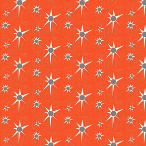 Red Atom Starburst