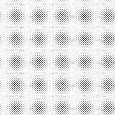 Mini Polka Dot Print -- Black Dots