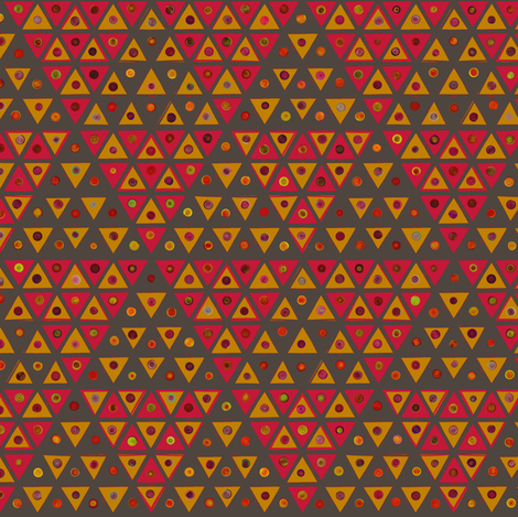 Shisha Gasket - warm fabric by ormolu on Spoonflower - custom fabric
