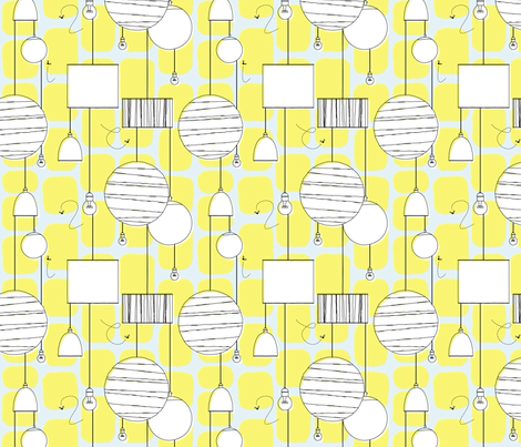 lampissimo fabric by grafiklieschen on Spoonflower - custom fabric