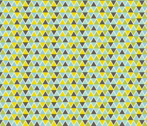 Triangle Mosaic fabric by jessicabonilla on Spoonflower - custom fabric