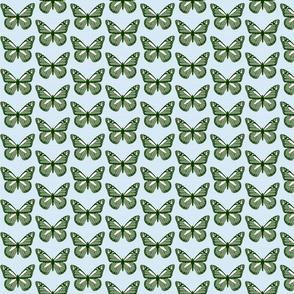 Butterfles - Forest Green
