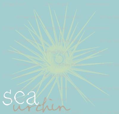 sea urchin 2 (lime & aqua sea)