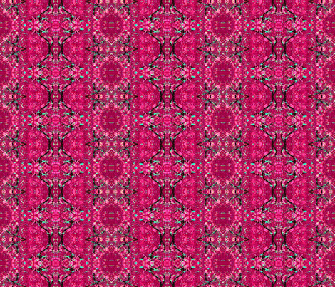 redbud pink fabric by anniedeb on Spoonflower - custom fabric