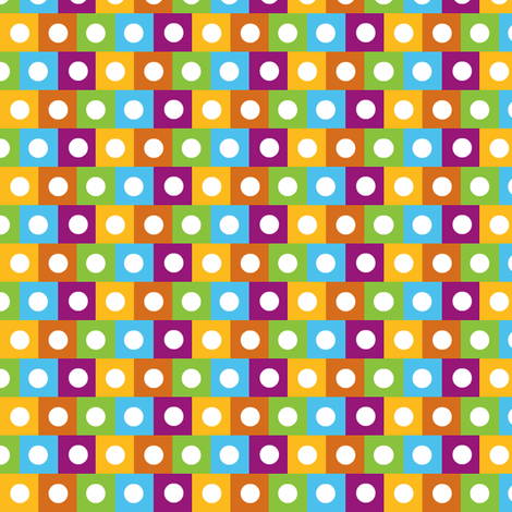 urban dots fabric by paragonstudios on Spoonflower - custom fabric