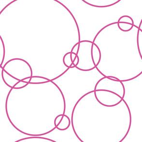 Large Circles—pink