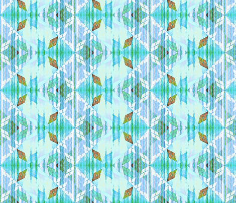 argylest sky dancer fabric by glimmericks on Spoonflower - custom fabric