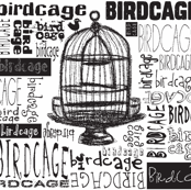 Birdcage Type! (Black &amp; White)