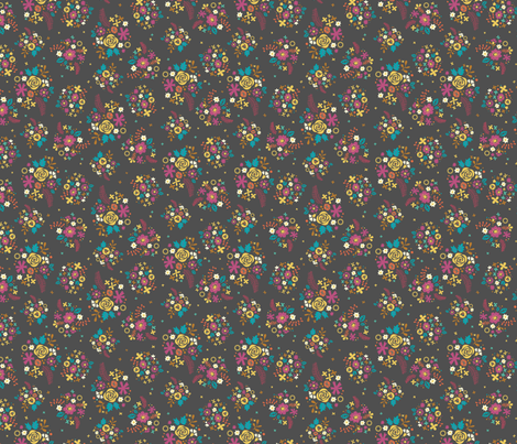 WashiMiniFloral-copy fabric by iheartlinen_ on Spoonflower - custom fabric