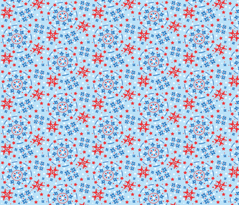 patriotic_celebration fabric by juliejet on Spoonflower - custom fabric