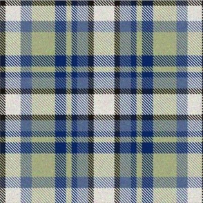 Moss and Blue Tartan
