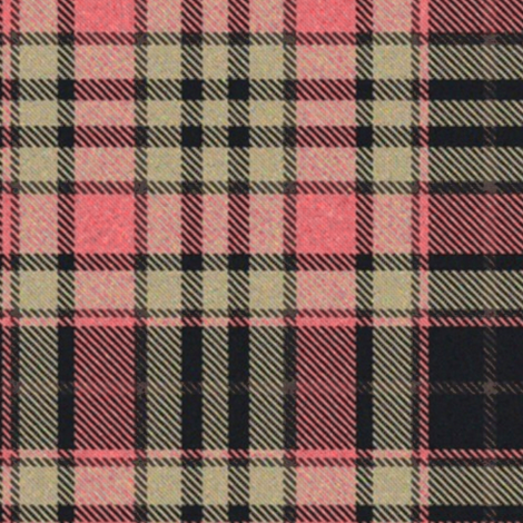 Pink and Tan Tartan fabric by eclectic_house on Spoonflower - custom fabric