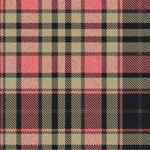 Pink and Tan Tartan