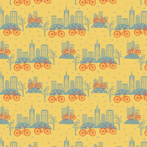 City Bikes Yellow (Small)