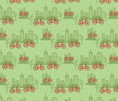 CIty Bikes Green (small)