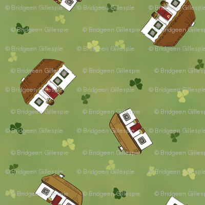 Tumbling Irish Cottages