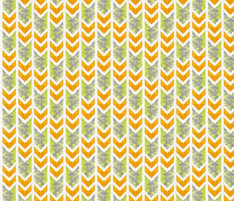 Urban Sightings Chevron v1 fabric by locamode on Spoonflower - custom fabric