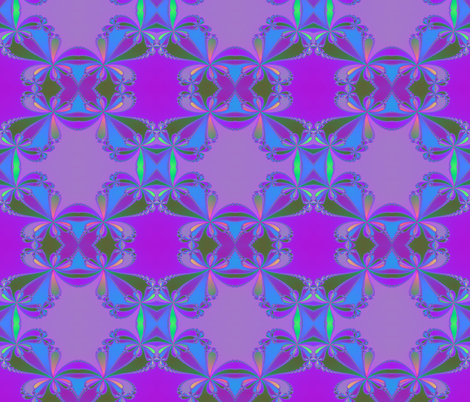 purple bows fabric by krs_expressions on Spoonflower - custom fabric