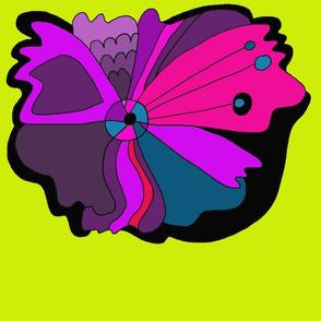 Mod purple flower