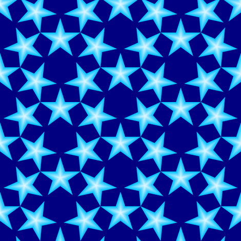 U53 V1 gradient stars fabric by sef on Spoonflower - custom fabric