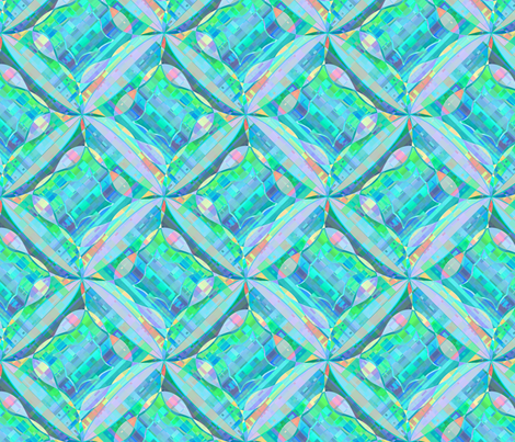 madras_spin_oceanic fabric by glimmericks on Spoonflower - custom fabric