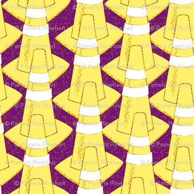 cones  yellow
