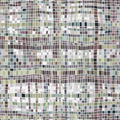 weave mosaic muted
