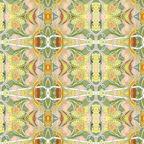 Deco Spring fabric by edsel2084 on Spoonflower - custom fabric