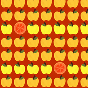 Super Hoot Autumn Apples, Oranges & Worms