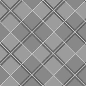 Charcoal Argyle