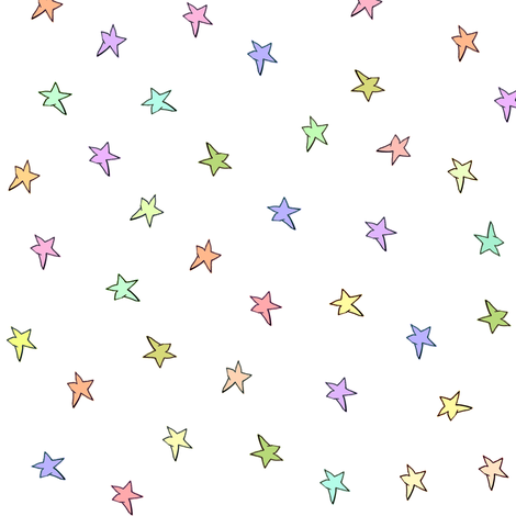 mac's stars fabric by weavingmajor on Spoonflower - custom fabric