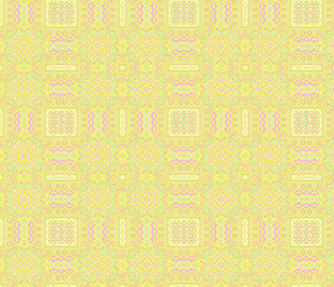 Spring pastel tablecloth fabric by wren_leyland on Spoonflower - custom fabric
