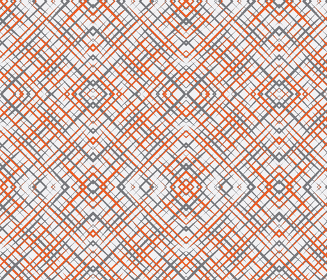 Brush_Plaid_White fabric by lkglioness on Spoonflower - custom fabric