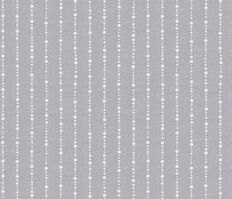 Grey Twill with Dots fabric by forest&sea on Spoonflower - custom fabric
