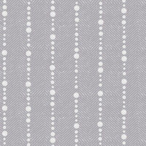 Grey Twill with Dots