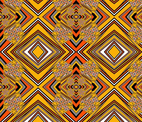 the_funky_stripes fabric by vinkeli on Spoonflower - custom fabric