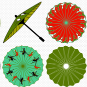 Tropical Parasols