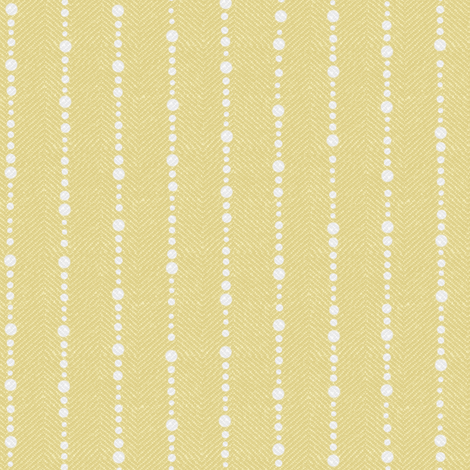 Yellow Twill with Dots