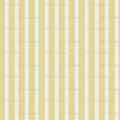 Yellow Twill with Stripes