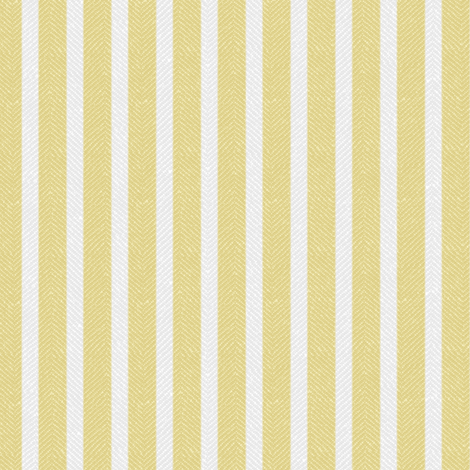 Yellow Twill with Stripes fabric by forest&sea on Spoonflower - custom fabric